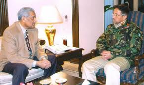 Parveez Musharraf and Abdul Qadeer Khan