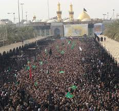 Devotees of Ahlul Bait in Karbala
